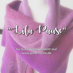 """Heidetuch """"Lila Pause"""" oder einfach was zum kuscheln • www.pink-castle.de"""