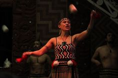 Mauri Dance at Te Puia - Rotorua, New Zealand - Photo
