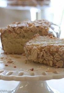 Gluten-free Almond Tea Bread