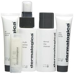 Dermalogica Skin Kit – Oily-a comprehensive system of products that are ideal for oily skin types. #SkinCare #OilySkin