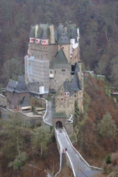 I don't think I could go across this bridge to this Castle , NOPE , way too scary YIKS, but it is cool ;)