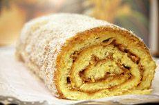brazo de reina- chilean pastry