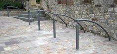 Ancona, public design,  Fahrradständer, Fahrradanlehner, bicycle stands, Stadtmobiliar, street furniture