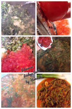 Lebanese loubya bzeit #greenbeans #oliveoil #onion #loubya #lebanese #garlic #tomato #tomatopaste  And salt & pepper  Exact recipe available upon request! #Healthy #vegan #vegetarian