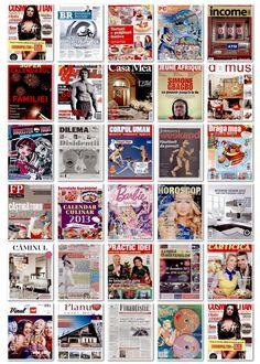 2012.12.06 - coperti editii noi reviste romanesti si internationale