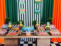 Cheirinho de Festa - Decoração para Festa Infantil - RJ: Tartarugas Ninja