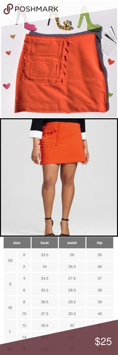 Victoria Beckham!!!!! Summer loving bright vibrant Beckham (for target) skirt!. Omg, I went crazy when her line got as it's fabulous!. I have two extra skirts and kept the other two. If you LOVE to rock it, it's yours!!!. Polyester/rayon/spandex- Victoria Beckham for Target Skirts Mini