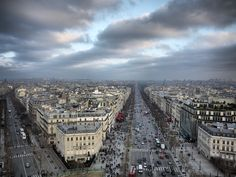 Place Charles de Gaulle is a major roundabout with 12 roads which fork off it…