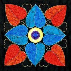 Resultado de imagen de affairs of the heart quilt pattern Heart Quilt Pattern, Quilt Block Patterns, Applique Patterns, Applique Quilts, Quilt Blocks, Applique Designs, Quilting Projects, Quilting Designs, Patchwork Quilt