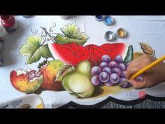 Frutas em Tecido (Aula 48/ Parte 2) - YouTube
