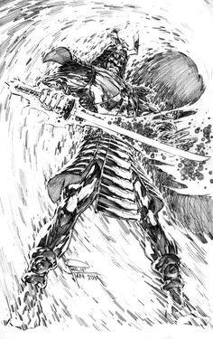 Silver Samurai by Philip Tan