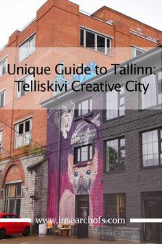 Finding the creative side in Tallinn, Estonia at Telliskivi Creative City. Tips for where to eat, drink, shop, and more.