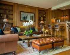 Hallidays' fabulous traditional style Oak panelling with a contemporary edge