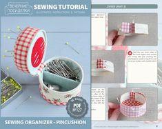 PDF Sewing Organizer Pincushion Sewing Pattern & Tutorial | Etsy