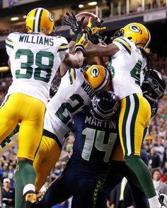 Packers robbed of win in 2012 week 3. Replacement Ref debacle