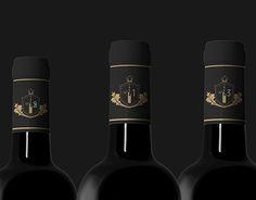 New Wine Branding Logo from Austria No 1 Wine Logo, Logo Branding, Logos, Grafik Design, New Work, Red Wine, Alcoholic Drinks, Behance, Bottle