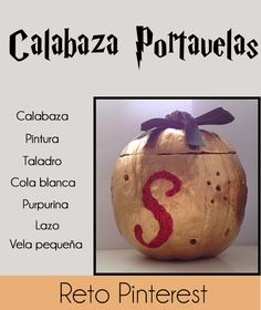 1001 tardes - #elretopinteretest octubre DIY Calabazas - Pumpkin Decor