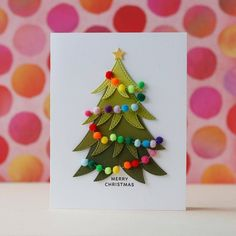 Hobby Lobby Christmas, Diy Christmas Cards, Homemade Christmas, Xmas Cards, Christmas Crafts, Christmas Decorations, Photo Album Scrapbooking, Diy Scrapbook, Tarjetas Diy