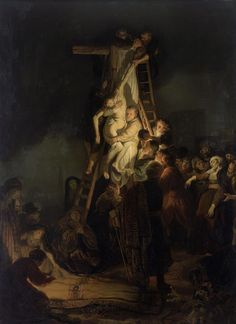 Descent from the Cross, Rembrandt Hermanszoon van Rijn (1634). Hermitage, St. Petersburg.