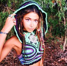 Amazing crochet top from @cosmicsun_  check out her account !  #positivevibes #hippiemood #hippiespirit  #freeyourmind #handcraft #psychedelic #handmade #spirituality #hippiestyle #hippielife #trippyhippy #inspo #inspiration #crochet #crochettop #travel #traveler #boho #hippie #freespirit #bohemian #gypsysoul #followme #gypsy #goodvibes #wanderlust #gypsylife #lfl #gypsymood #follow4followback by hippies.spirit