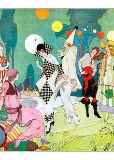 A Most Elegant Masquerade Ball | Parties! Hooray! Art Prints