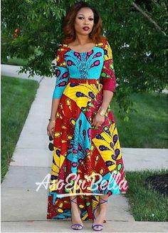 Contemporary Ankara Styles That Are Killing The Scene - Wedding Digest Naija Ankara Styles For Women, Trendy Ankara Styles, African Dresses For Women, African Attire, African Wear, African Fashion Dresses, African Women, Ankara Fashion, Chitenge Dresses