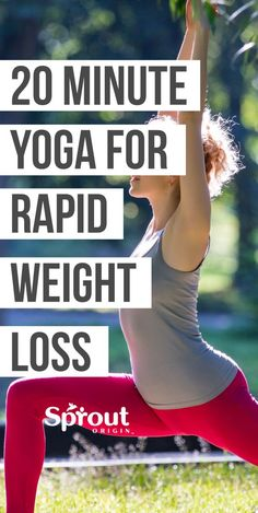 Whether you are trying to improve flexibility, relax your mind and body this 20 minute yoga for beginners is the perfect workout to get you started. Yoga For Weight Loss, Weight Loss Plans, Fast Weight Loss, Weight Loss Program, Weight Loss Transformation, Weight Loss Tips, Weight Gain, Loose Weight, Fat Fast