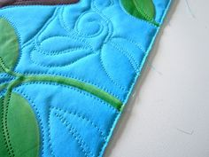 Making a Faced Binding, by Judy Coates Perez