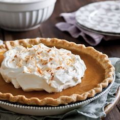 This pumpkin pie is a great way to share the season's flavors with family and friends!