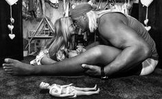 Brooke Hogan w/ Daddy Hulk Hogan... I love this picture!!