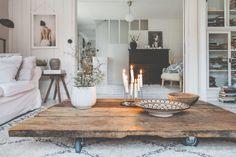 sunnuntaina - Uusi Kuu Decor, Furniture, Interior, Home, Dining Table, Room Inspiration, Living Room Inspiration, Interior Design, Rustic Dining Table