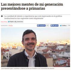 Las mejores mentes de mi generación presentándose a primarias / @_isaacrosa + @eldiarioes | #socialpolitics