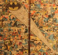 Bat Signal /// Artist Mike Alcantara Turns Comic Books Into Awesome Collages