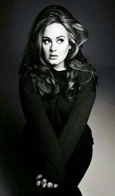 """Adele,  I like how she doesn't let Hollywood mess with her image.  As she once quoted """"I make music for ears, not eyes"""""""