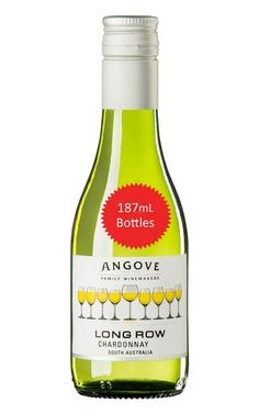 Angove Long Row Chardonnay 2019 South Australia 187mL - 24 Bottles Creamy Pasta, Gold Line, South Australia, White Wine, Wines, The Row, Bottles, How To Make, Cream Pasta