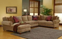 RobertMichael manufactures quality affordable furniture Made in the USA  Rocky Mountain Chaise and Sofa Sectional by Robert Michael