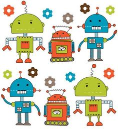 large pix of robots for kids rooms | Tips for Kids Room