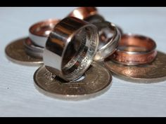 ▶ how to make a ring coin the easy way ..part 3 the final..... - YouTube