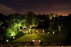 gardens night time - Google Search