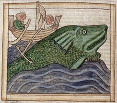 (Whale.)   44 Medieval Beasts That Cannot Even Handle It Right Now