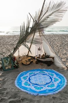 This Amazing Round Beach Towel , thick and soft , 150 cm , will perfectly serve you on the beach or by the pool