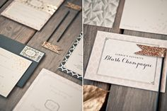 This Beautiful Wedding Was All About The Details #refinery29  http://www.refinery29.com/100-layer-cake/66#slide2  Calligrapher: Little Miss Press.