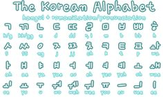 Korean Alphabet A to Z - Bing Images