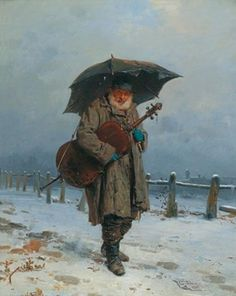 Das Cello (1869) Gerolamo Induno (Milano, 1827-1890) Cello in art