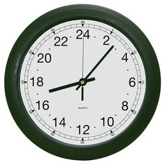 C. Crane 24HC 24 Hour Wall Clock