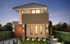 Metricon Home Designs: The Breeze - Kingston Facade. Visit www.localbuilders.com.au/builders_victoria.htm to find your ideal home design in Victoria