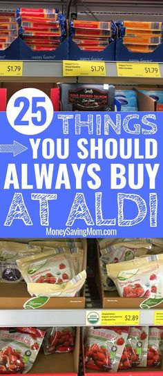 Spending your grocery budget at ALDI? This list is SO helpful to know which items are HOT deals that will save you tons of money at ALDI! This is so helpful of items that are for sure cheapest at Aldi! Grocery Savings Tips, Savings Plan, Aldi Grocery Store, Dessert Party, Living On A Budget, Frugal Living Tips, Family Budget, Frugal Tips, Save Money On Groceries