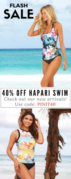 Flash Sale! Get ready for summer fashion and vacation outfits. Grab your favorite bikinis and tankinis as seen on previous swimsuit illustrated model Kyra Santoro and head to the beach! Shop our wide range of swimwear for teens and women of all ages at HAPARI.com. Get 40% off your entire order by using code PINIT40!