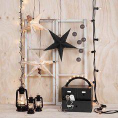 Čierno-biele vianočné dekorácie | Living Styles