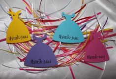 Princess Thank you tags by Leonscreativememorie on Etsy, $0.50